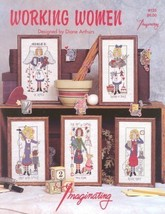 CLEARANCE Working Women cross stitch chart Imag... - $3.00