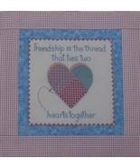 CLEARANCE Friendship Heart cross stitch chart A... - $3.00