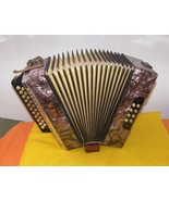 3 Row Hohner Club II Diatonic Button Accordion - $650.00