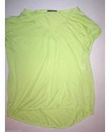 New Womens NWT $78 Tahari Clara Top Lime Sorbet... - $46.80