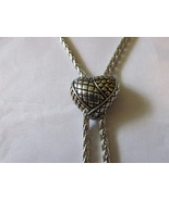 Heart Shaped Lariat / Bolo Style Slide Necklace... - $17.99