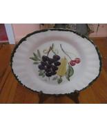 Vintage Tenn. Blue Ridge Platter-Fantasy Fruit-... - $19.50