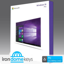 Windows 10 Professional (32 & 64bit) OEM Licens... - $38.79