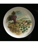 Ceramica Cuore Plate Vineyard 9 1/2 inches Made... - $12.00
