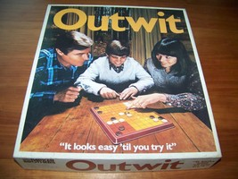 OUTWIT Classic Board Game - Parker Brothers 197... - $8.09