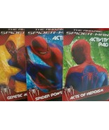 New The Amazing Spiderman Activity Pads 3 pack - $7.99