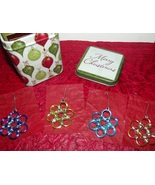 Chainmaille Christmas Snowflake Ornaments - $40.00