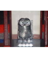 Cartoon Character Minion Silver Metal Finish Be... - $14.36