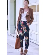 Stunning ZARA Floral Oriental Printed Trousers ... - $59.71