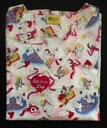 Cupid Valentine's Day Love Print Scrub Tops - N... - $11.99