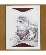 Limited Edition Native American Eagle Print by ... - $49.97
