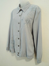 Alfred Dunner Womens Stretch Jacket Size 10 Pal... - $13.64