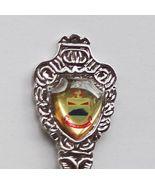 Collector Souvenir Spoon Malaysia Sabah Coat of... - $12.99