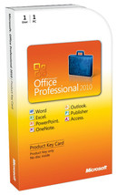 Microsoft Office 2010 Professional Plus 32bit &... - $45.99