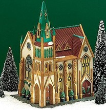 Dept 56 CIC ALL SAINTS CORNER CHURCH *NIB*  554... - $132.30