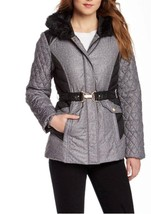 ELLEN TRACY Women's Down Jacket Tweed Patterned... - $113.12