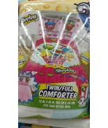 Shopkins 4 Piece Twin/Single Size Comforter She... - $76.50