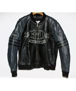 Harley Davidson Leather Bomber Jacket Black and... - $325.00