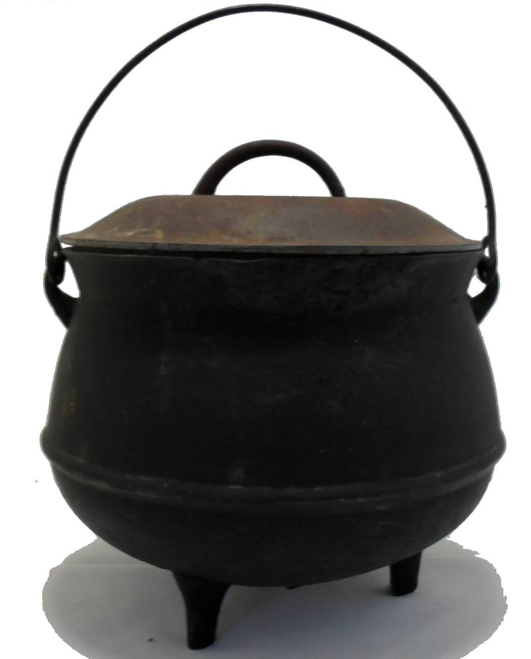 Antique 1900 Cast Iron Cauldron Primitives
