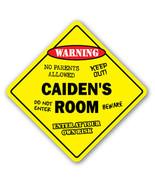 CAIDEN'S ROOM SIGN kids bedroom decor door chil... - $8.89