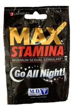 MD Lab MAX STAMINA Sexual Enhancement Pill! Max... - $12.99