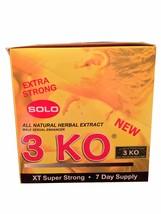 3 KO Solo Extra Strong Male Libidio Enhancer Se... - $79.99