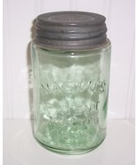 Green Pint Mason's Patent Nov 30th 1858 Canning... - $59.40