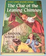 Nancy Drew #26 Clue Leaning Chimney Orig Text PC - $11.99
