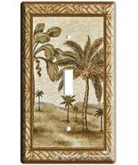 NEW PALM TREE SINGLE GANG LIGHT SWITCH COVER WA... - $7.99