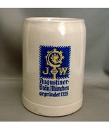 Augustiner Brau Munich 1 L  German Beer Stein - $7.00