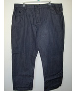 Mens Rocawear Black Jeans Size 50 X 32 Length 6... - $27.97