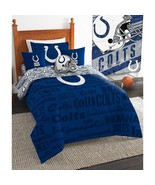 Indianapolis Colts Twin/Single Size 4 Piece Com... - $65.00