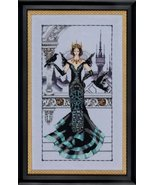 The Raven Queen MD139 cross stitch chart Mirabi... - $13.95