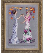The Garden Party MD140 cross stitch chart Mirab... - $13.95