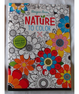 Designer Series Nature to Color Kappa Books USA... - $7.99