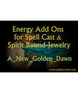 A New Golden Dawn Spell Work-Energy ADD ONS-4 S... - $15.00