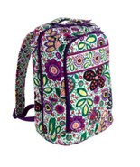 New Viva La Vera Bradley Large Laptop Backpack Bag - $98.99