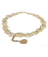 Chanel Gold CC Cut Out Disc Belt - $895.00