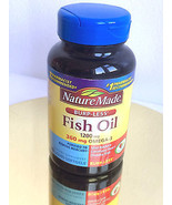 Nature Made Burp-less Fish Oil 1200mg  Omega-3 ... - $9.97