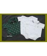 RALPH LAUREN Boy 3 Pc Short Sleeved Summer Lot ... - $16.83