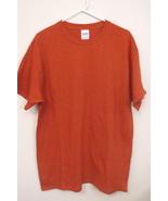 Mens Gildan Heavy Cotton NWOT Antique Orange Sh... - $8.00