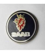 SAAB EMBLEM AUTOMOBILE CLASSIC CAR LAPEL PIN BA... - $4.70