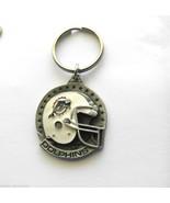 NFL FOOTBALL MIAMI DOLPHINS PEWTER KEY RING KEY... - $7.67