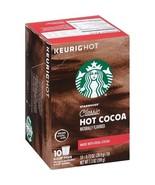 Starbucks Hot Cocoa Classic Keurig K-Cups - $15.79