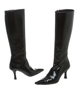 Stuart Weitzman Brown Leather Pointed Toe Boots... - $195.00