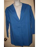 Women's Plus Sweatshirt Button Down Jacket in M... - $22.31