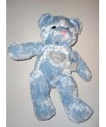 Baby Boy Blue Teddy Bear Plush Stuffed Animal H... - $24.97