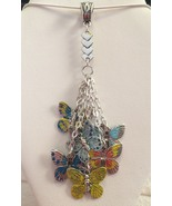 Beautiful Colorful Hand Painted Butterfly Drop ... - $21.99