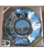 Disneyland Souvenir Dish Vintage Smoke Glass Tr... - $10.93