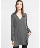 Zara Women's Top With Slits Gray Size S NWT  - $22.76